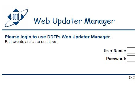 Web Update Manager